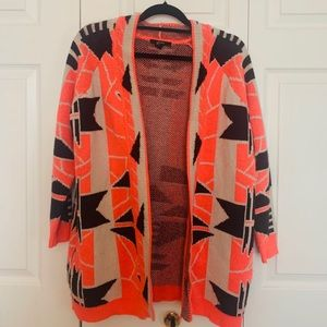 Long Tribal Cardigan
